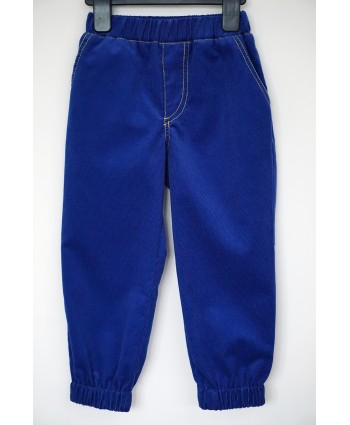 Kids Corduroy Trousers Unisex Blue Toddler 2-3 years Christmas Gift
