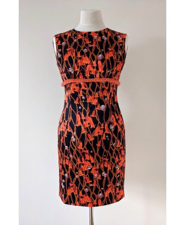 Luxury tailored elegant fitted dress, size 10